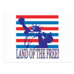 Land Of The Free Post Card