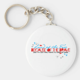 Land of the Free: Son Keychain