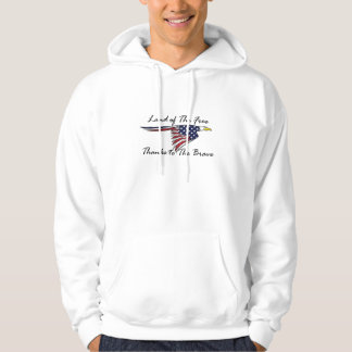 Land of the Free Thanks to The Brave Hoodie