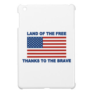 Land Of The Free Thanks To The Brave iPad Mini Covers