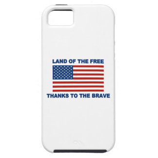 Land Of The Free Thanks To The Brave iPhone SE/5/5s Case