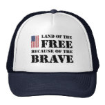 Land of the Free Trucker Hats