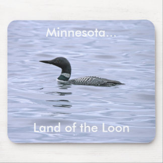 Land of the Loon Mousepad