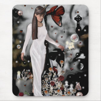 Land of the magic rose! mouse pad