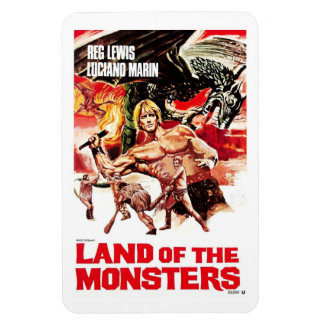 Land of the Monsters  Magnet
