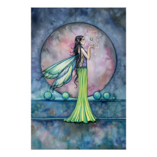 Land of the Orbs Fairy Poster Print