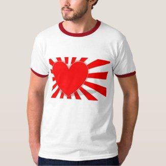 Land of The Rising Love shirt