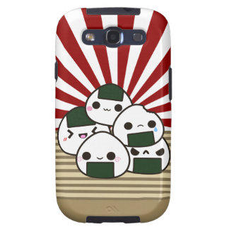 Land of the Rising Onigiri Galaxy S3 Cases