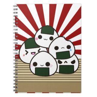 Land of the Rising Onigiri Notebook