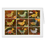 Land of Whimsical Birds: Thank You Card
