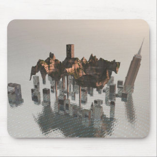 Land Over Water Surreal Mousepad Mousepads
