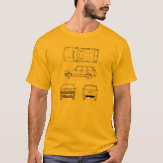 Land Range Rover Car Classic Vintage Hiking Duck T-Shirt
