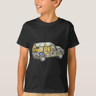 Land Range Rover Car Classic Vintage Hiking Duck T-Shirt