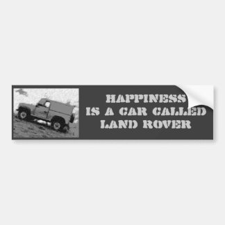 Land rover Bumper sticker
