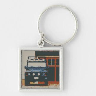 Land Rover Defender 90 - TIMELESS Keychain