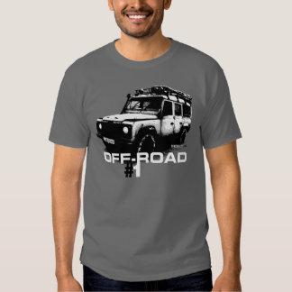 Land Rover Defender illustration Tshirt