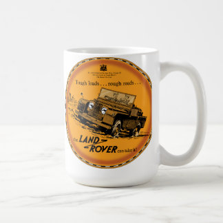 Land Rover duro Tazas