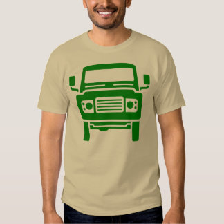 Land Rover illustration (green) Tee Shirt