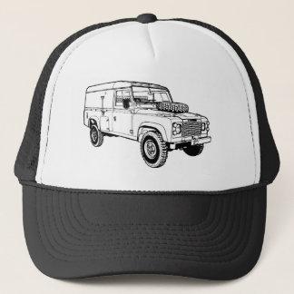 Land Rover Landy Vintage Hiking Duck Trucker Hat