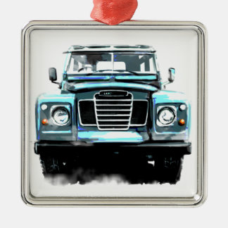 Land Rover Metal Ornament
