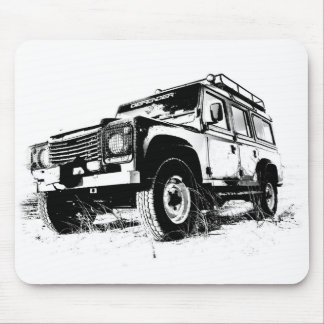Land Rover Mousepad