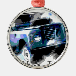 Land Rover Series 3 Metal Ornament