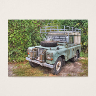 Land Rover Series III 109 Business Card