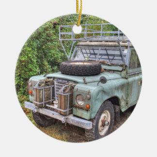 Land Rover Series III 109 Ceramic Ornament