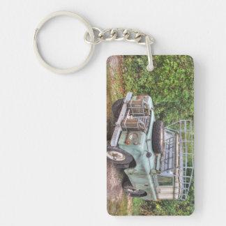 Land Rover Series III 109 Keychain