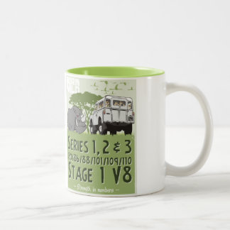 Land-Rover Strength in Numbers Two-Tone Mug