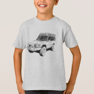 Land Rover Truck Art T-Shirt