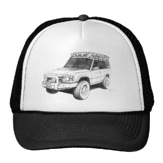 Land Rover Trucker Hat Art
