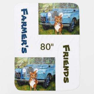 Land Rovers -Baby Blanket Stroller Blanket