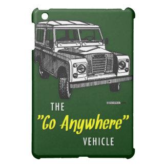 Land Rovers Go Anywhere iPad Mini Case