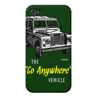 Land Rovers Go Anywhere iPhone 4 Cover