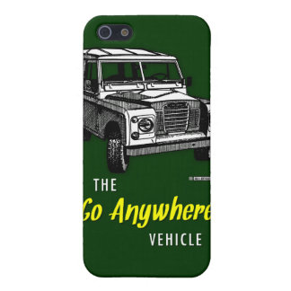 Land Rovers Go Anywhere iPhone SE/5/5s Case
