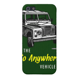 Land Rovers Go Anywhere iPhone SE/5/5s Cover