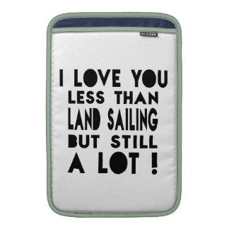 Land Sailing Designs Sleeves For MacBook Air