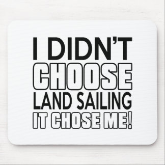 LAND SAILING DESIGNS MOUSE PAD