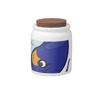 Land & Sea Candy Jar