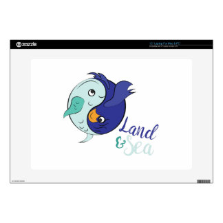 Land & Sea Decal For Laptop