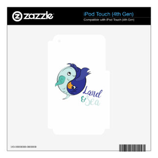 Land & Sea Skin For iPod Touch 4G