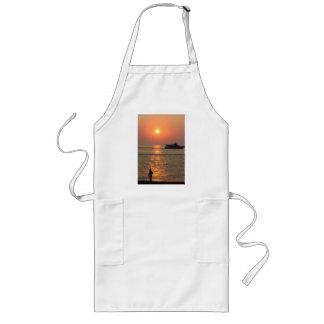 Land & Sea Sunset Long Apron