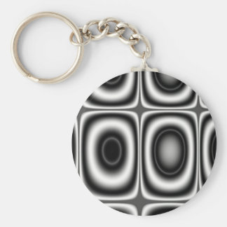 Land Seven - Fractal Keychain