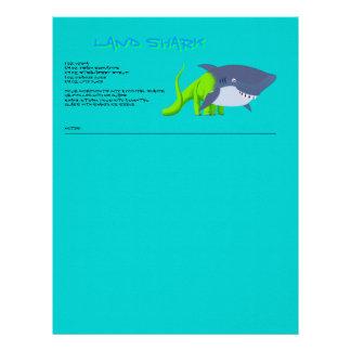 Land Shark Drink Recipe Letterhead