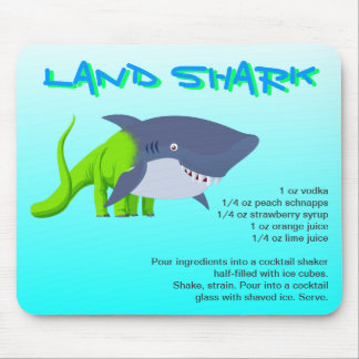 Land Shark Drink Recipe Mouse Pad