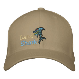 Land Shark Embroidered Hats
