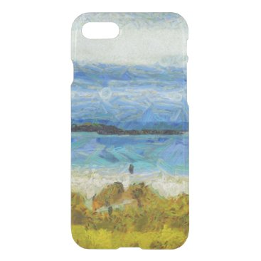 Land strip in water iPhone 7 case