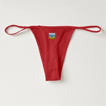 Beach Themed Land strip in water thong