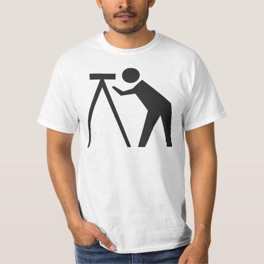 Land Surveyor at Work T-Shirt